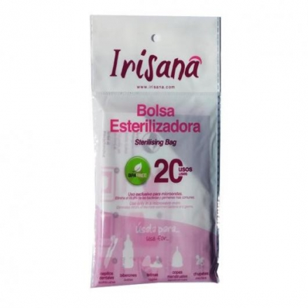 Bolsa Esterilizadora copas menstruales 20 usos