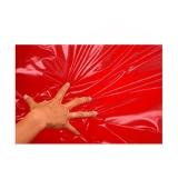 Sábana impermeable color rojo