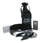 KIT SENSUAL ESPOSAS,ANTIFAZ Y FUSTA50 sombras de GreY