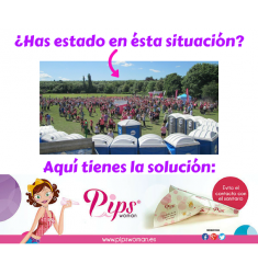 PIPS WOMAN FACILITADOR URINARIO