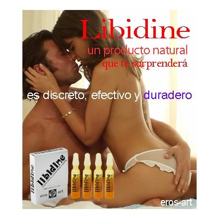 """Afrodisiaco natural """"Libidine"""" 4 ampollas de 2cc"""