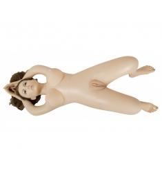 muñeca ultrasuave y realista postura para cama