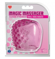 CABEZAL ROSA PARA MASAJEADORES MAGIC WAND