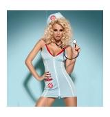 disfraz de enfermera con estetoscopio