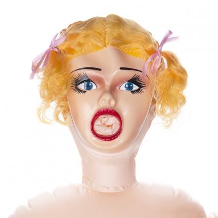 Muñeca hinchable 3D con vibracion.Oferta disponible en tienda.