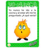 JUEGO DE CARTAS  YO NUNCA
