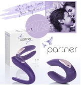 Partner  Plus Vibrador Para Parejas USB