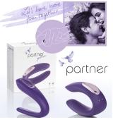Partner Plus Vibrador Para Parejas USB