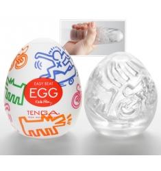 Huevo tenga Keith Haring edición limitada