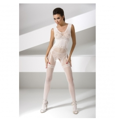 Bodystocking blanco