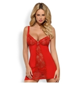 CHEMISE HEARTINA ROJO INTENSO
