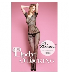 Bodystocking manga corta
