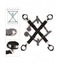 SET RESTRICCIÓN CRUZADA PARA CAMA 50 SOMBRAS DE GREY