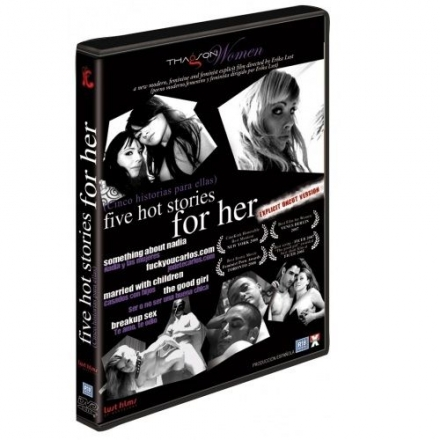 DVD EROTICO PORNO CINCO HISTORIS PARA ELLA