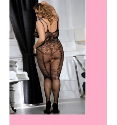 BODYSTOCKING RED FINA TALLA XL