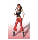 Disfraz sexy chica pirata