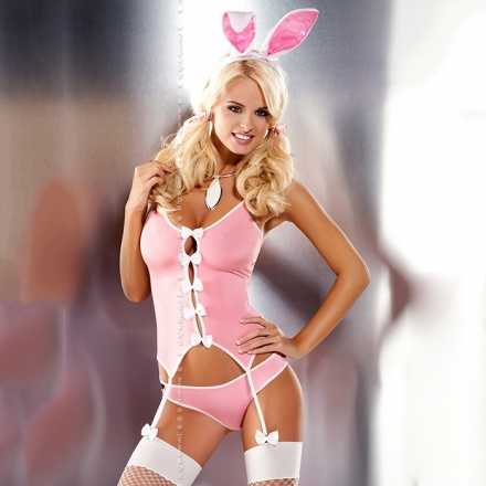 Bunny suit, disfraz conejita corsé