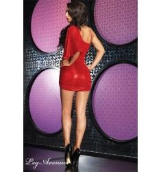 Mini Vestido Asimétrico