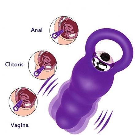 Estimulador bubble anal clitorial