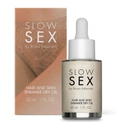 HAIR AND SKIN SHIMMER DRY OIL · ACEITE INTIMO ILUMINADOR