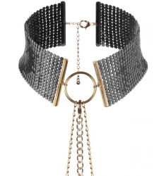 ELEGANTE COLLAR METALLIC NEGRO