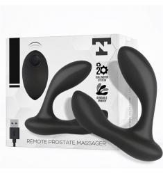 Masajeador Prostático De Silicona  Con Control Remoto