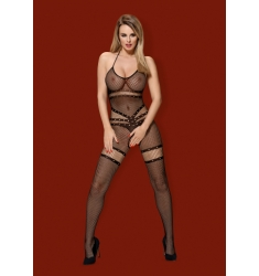 Bodystocking de red elegante y sensual