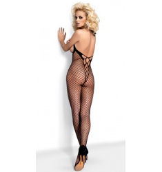 BODYSTOCKING DE RED CON ABERTURA EN PECHOS