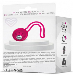 BOLA CHINA UNITARIA  ROSA FITTY