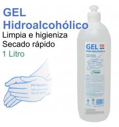GEL HIDROALCOHÓLICO higieniza las manos y cualquier superficie 1 LITRO