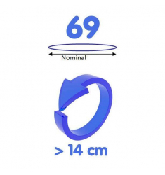 My Size CONDOMS Talla 69 - 10 uds.