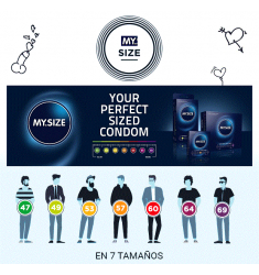My Size CONDOMS Talla 69 - 10 uds.