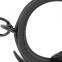 anilla de acero plug uretral de 30 MM con cristal swarovsky