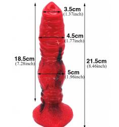 anilla de acero de 30mm plug uretral  con circonita