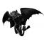 DILDO Fantasía Mitológico Furia Nocturna dragon bicolor