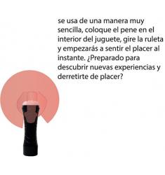 PENE REALISTA  CON PREPUCIO DE GLANDE RETRACTIL