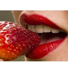 Pintura para el cuerpo  sabor fresa cava