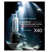 BATHMATE HYDROMAX X40 AZUL AGUA