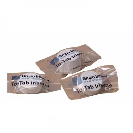 Toallitas limpiadoras en tableta