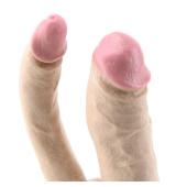 VIBRADOR DOBLE PENETRACIÓN NATURAL