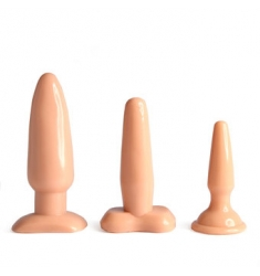 VANILLA DIP BUTT PLUG KIT NATURAL