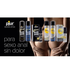 PACK ESPECIAL ANAL -Relajante dilatador anal, LUBRICANTE ANAL 30ml y plug anal.