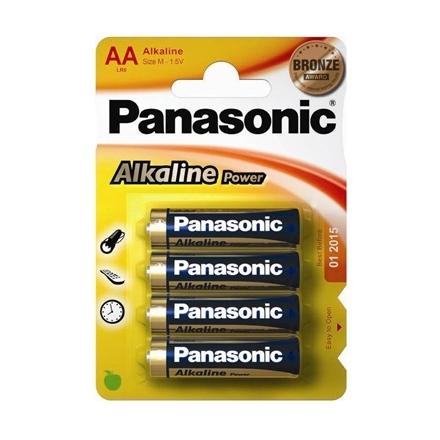 4 PILAS ALCALINAS PANASONIC AA